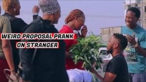 Zfancy Comedy – AFRICAN WEIRD PROPOSAL! PRANK